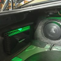 JL audio green and rockford fosgate