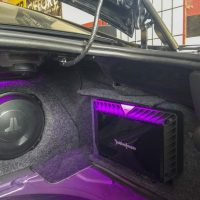 Rockford fosgate and JL audio installed