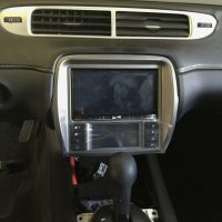 Stereo installed touch screen bluetooth