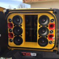Custom speaker installation and customization