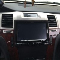 touchscreen stereo system