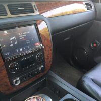 9 inch Alpine speaker system installed