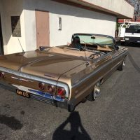 Brown Chevy Impala work at Stereo USA Plus
