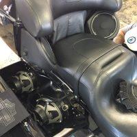 Harley Davidson Motorcycle seat