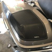 Rockford fosgate installed on motorcycle